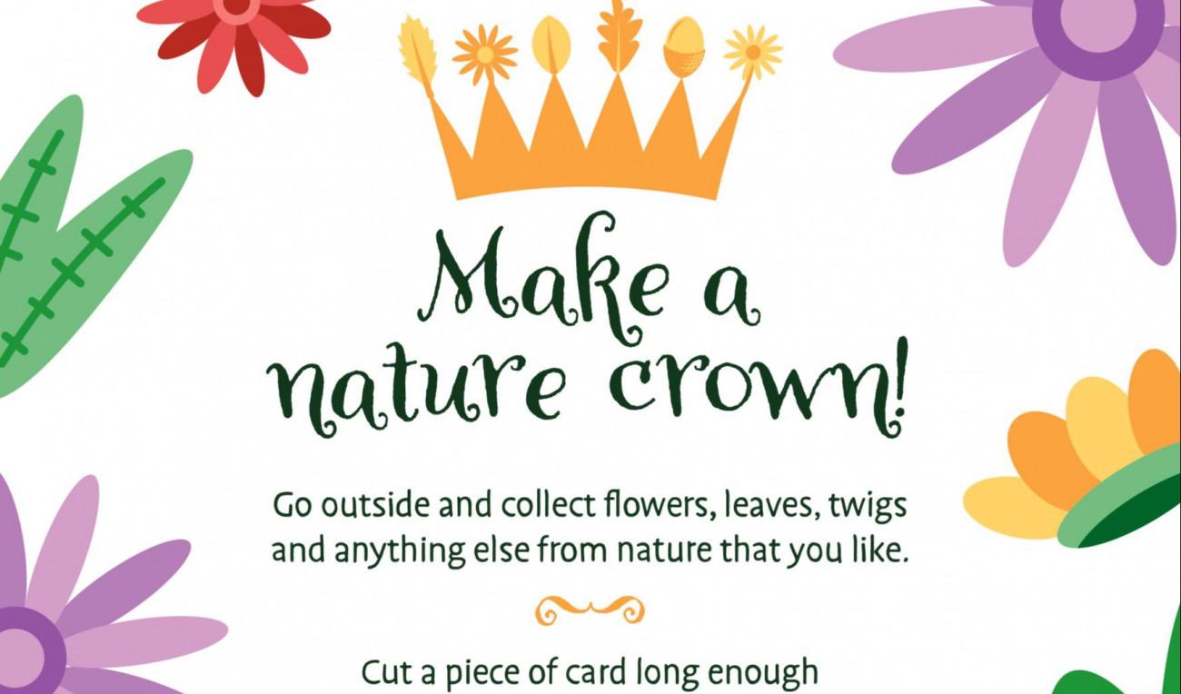 Create a Nature Crown!