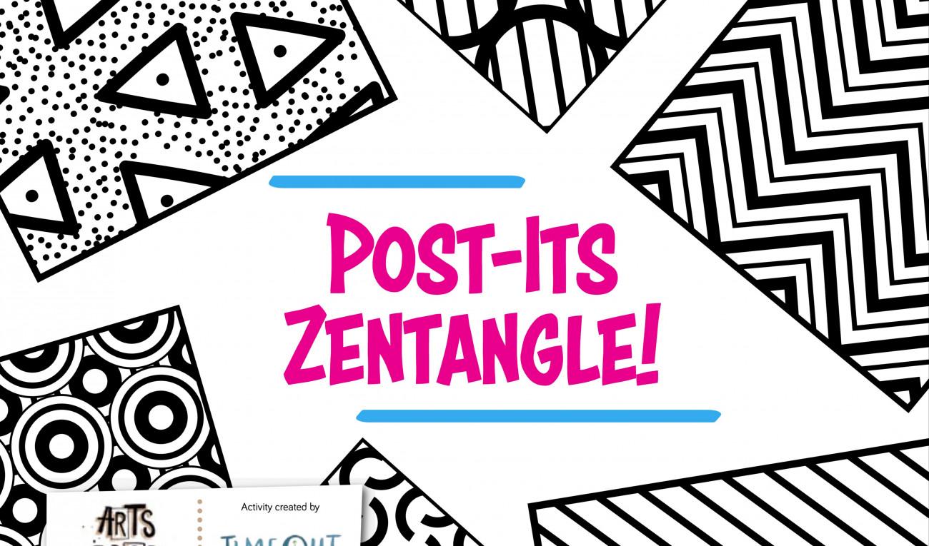 Post-Its Zentangle
